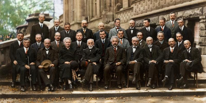 Solvay Conference Colored