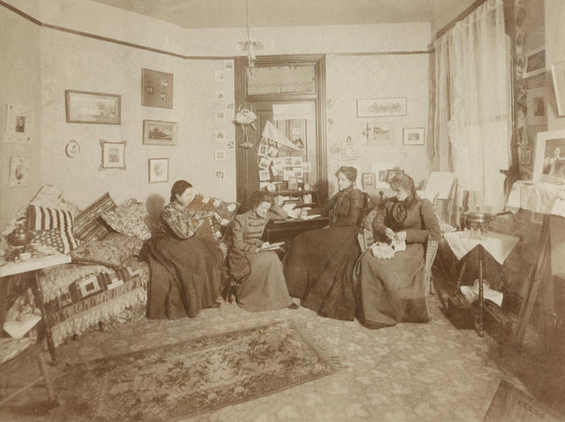 dormrooms 100 years ago 1
