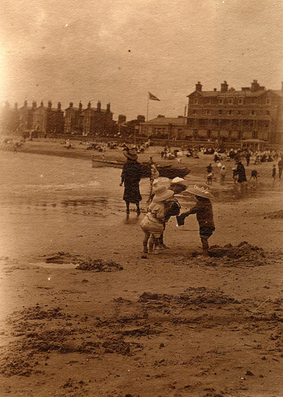 Edwardian Children at Beach 6
