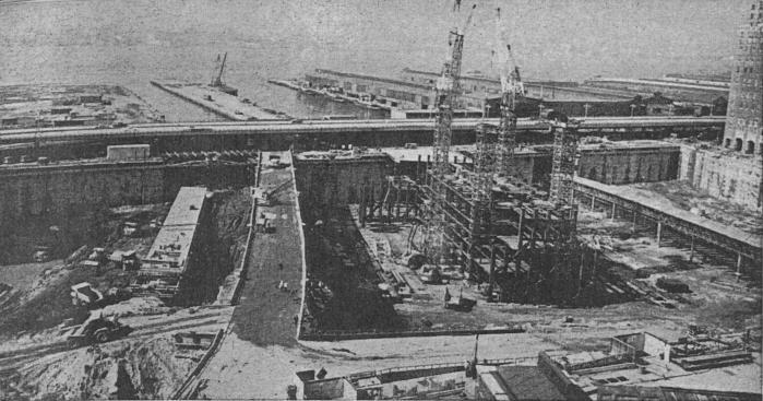 construction of twin towers 16