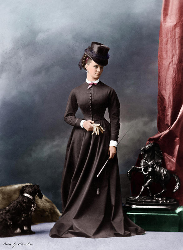 colorized victorian portraits 17