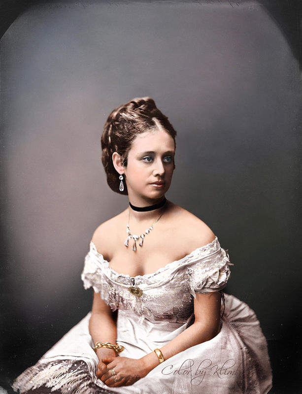 colorized victorian portraits 15