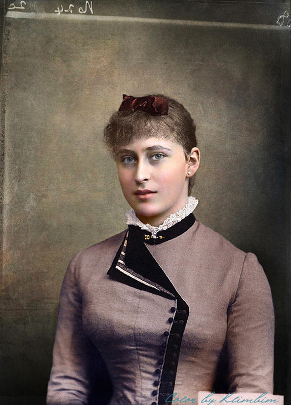 colorized victorian portraits 19