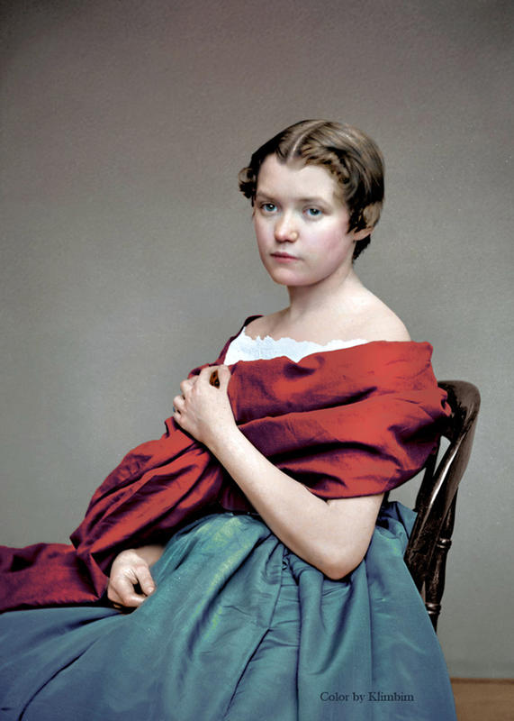 colorized victorian portraits 16