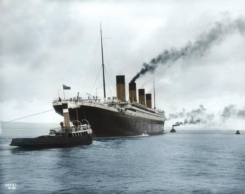 titanic in color 5