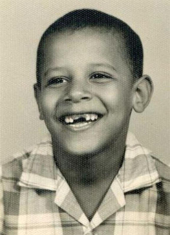 Childhood Photos of President Barack Obama From Between the 1960s ...