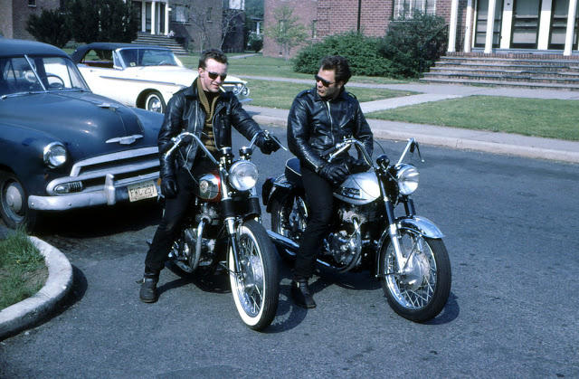 Classic Motorbikes in the 1950s-60s (26)