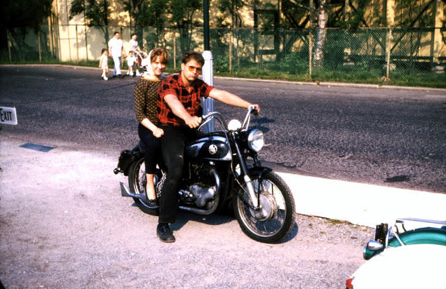 Classic Motorbikes in the 1950s-60s (10)