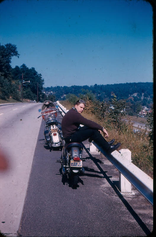 Classic Motorbikes in the 1950s-60s (25)