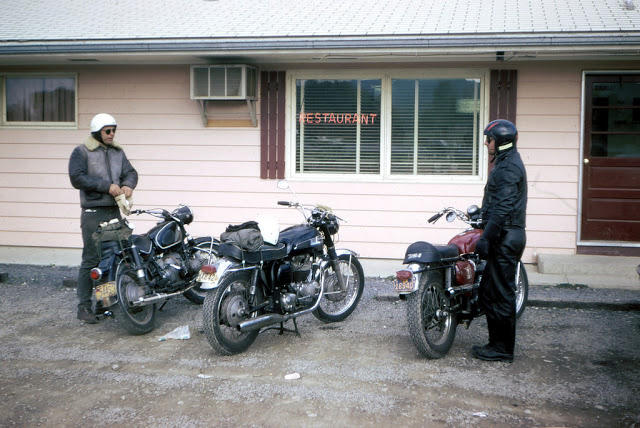 Classic Motorbikes in the 1950s-60s (12)