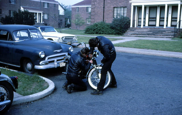 Classic Motorbikes in the 1950s-60s (13)