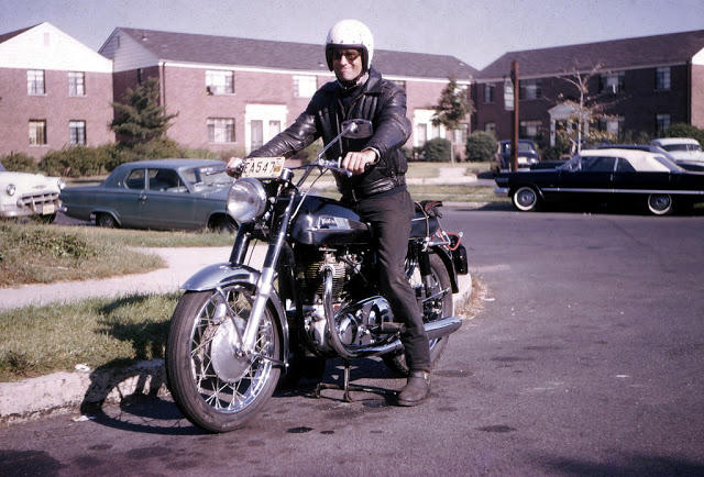 Classic Motorbikes in the 1950s-60s (6)
