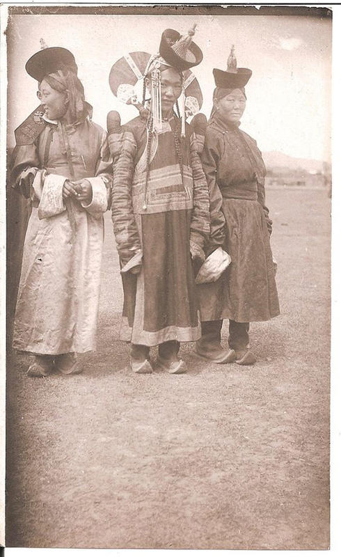 Mongolian Women in Their Traditional Costumes (20)