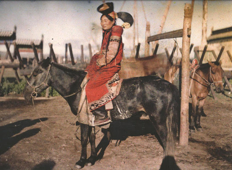 Mongolian Women in Their Traditional Costumes (24)