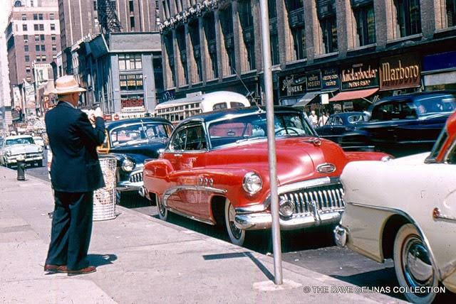 Streets of USA in the 1950s (1)