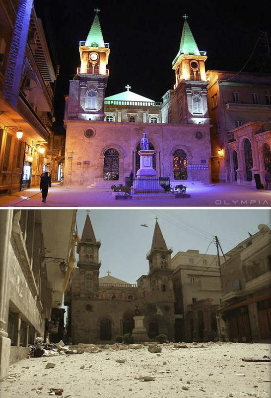 syria before after war 18