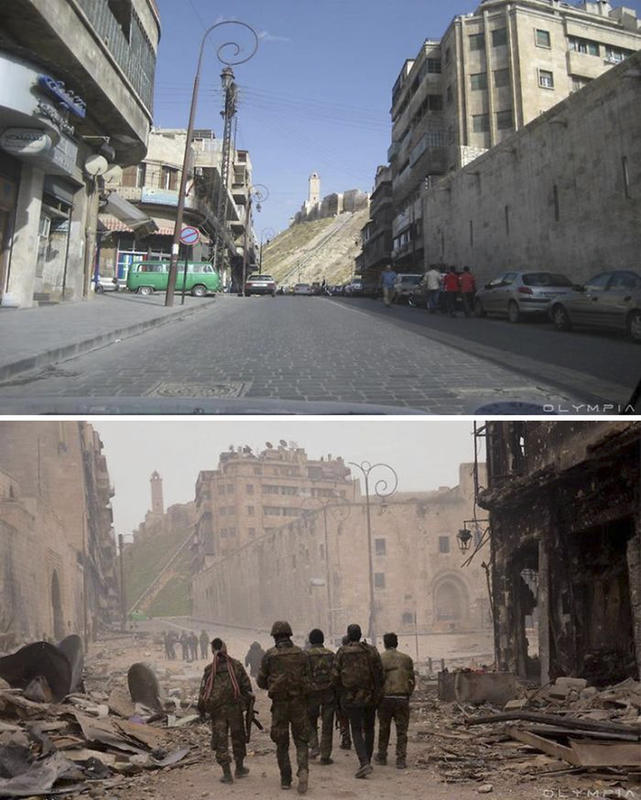 syria before after war 29