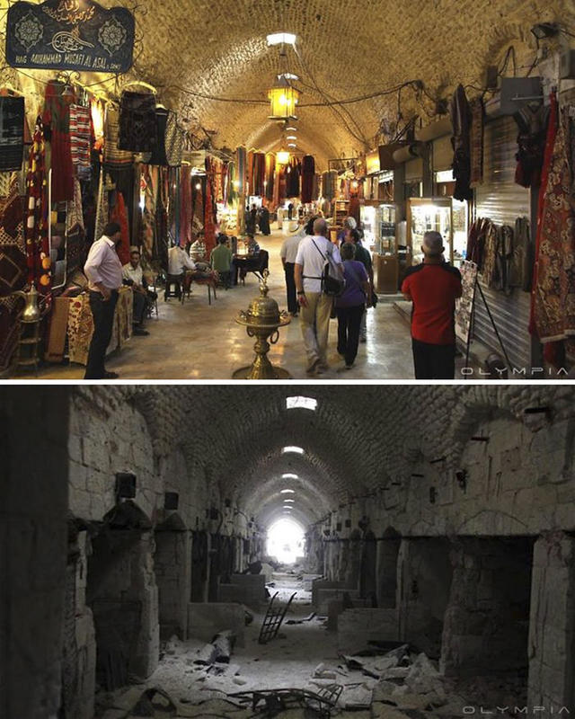 syria before after war 3