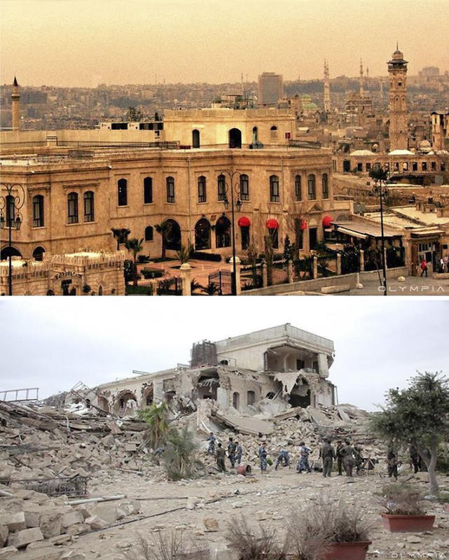 syria before after war 20