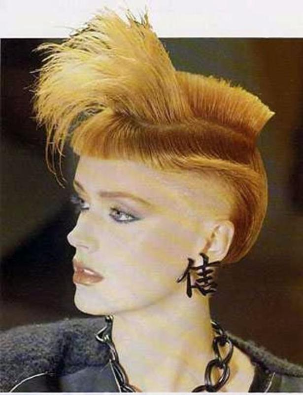 Women Rock Hairstyle in the 1980s (25)