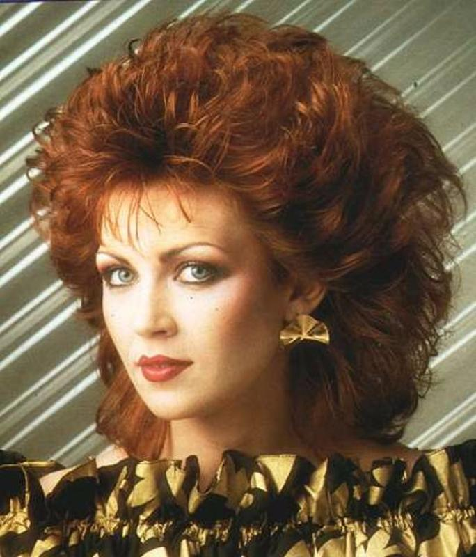 Women Rock Hairstyle in the 1980s (5)
