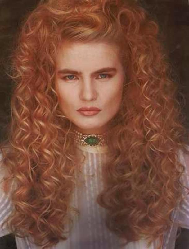 Women Rock Hairstyle in the 1980s (12)
