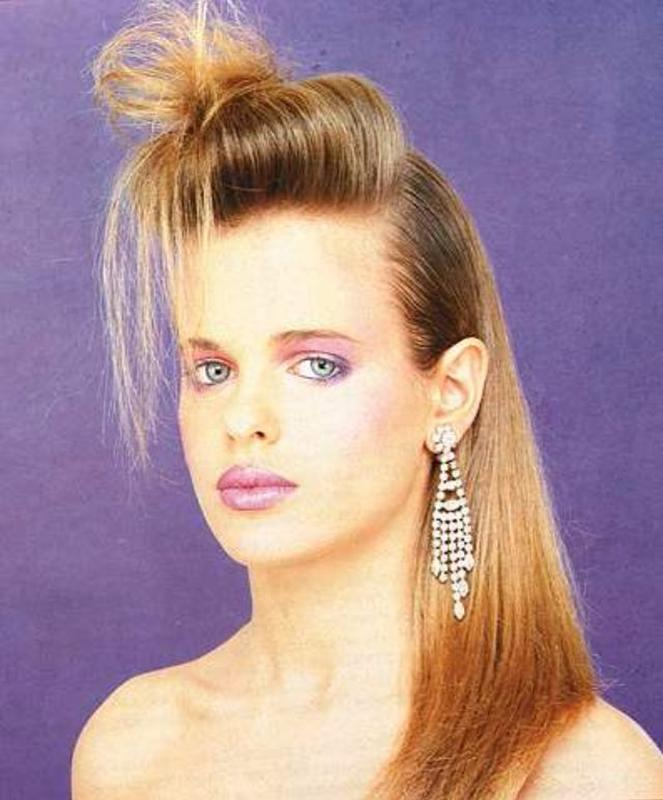 Women Rock Hairstyle in the 1980s (30)