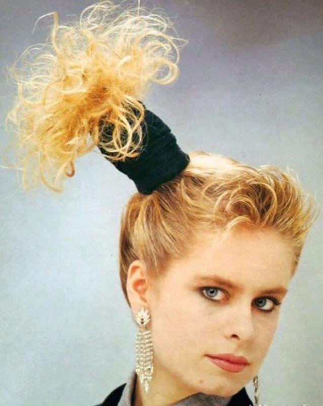 Women Rock Hairstyle in the 1980s (33)