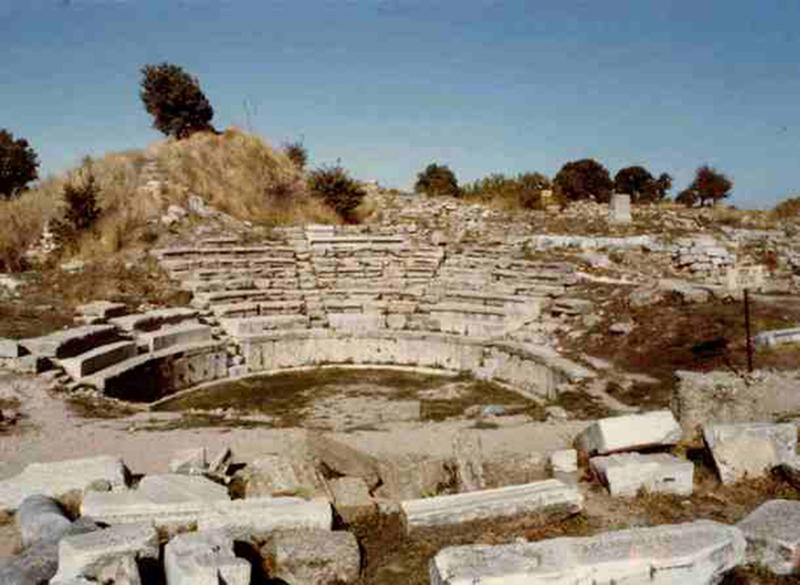 archaeological discoveries - ancient troy