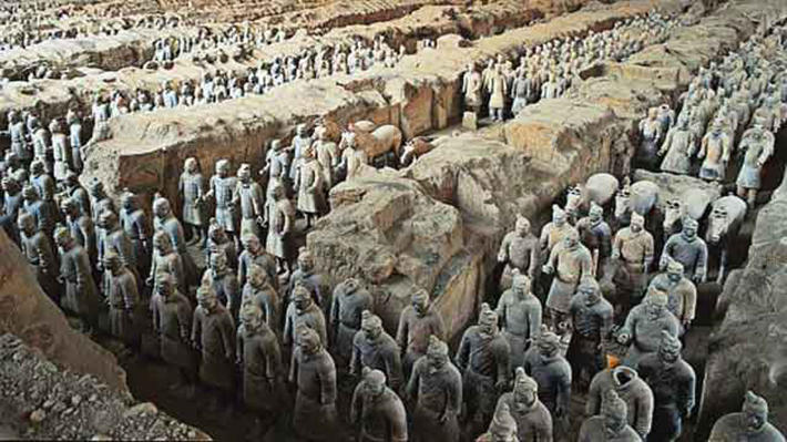 archaeological discoveries - terra cotta army
