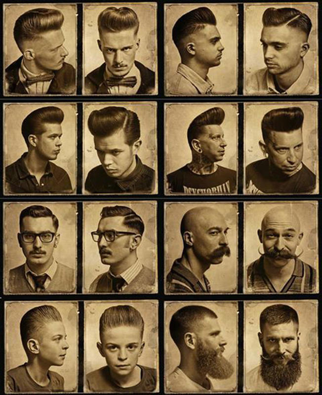 Wondrous Vintage Photos Of Mens Hairstyle From The Past History Daily Schematic Wiring Diagrams Amerangerunnerswayorg