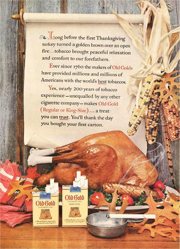 18 Weird Thanksgiving Dinner Ideas From Vintage Ads