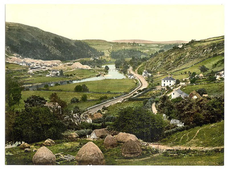 hundred yr old color photos of ireland (7)