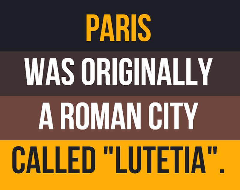 facts about ancient rome - paris