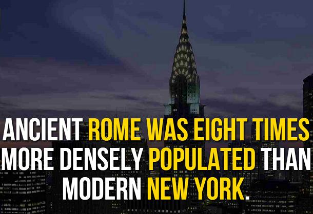 facts about ancient rome - population