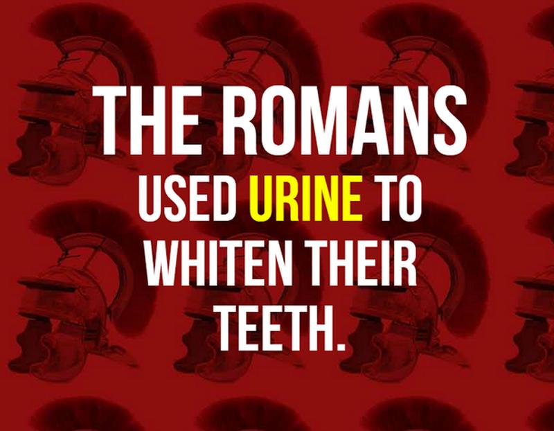 facts about ancient rome - urine 2
